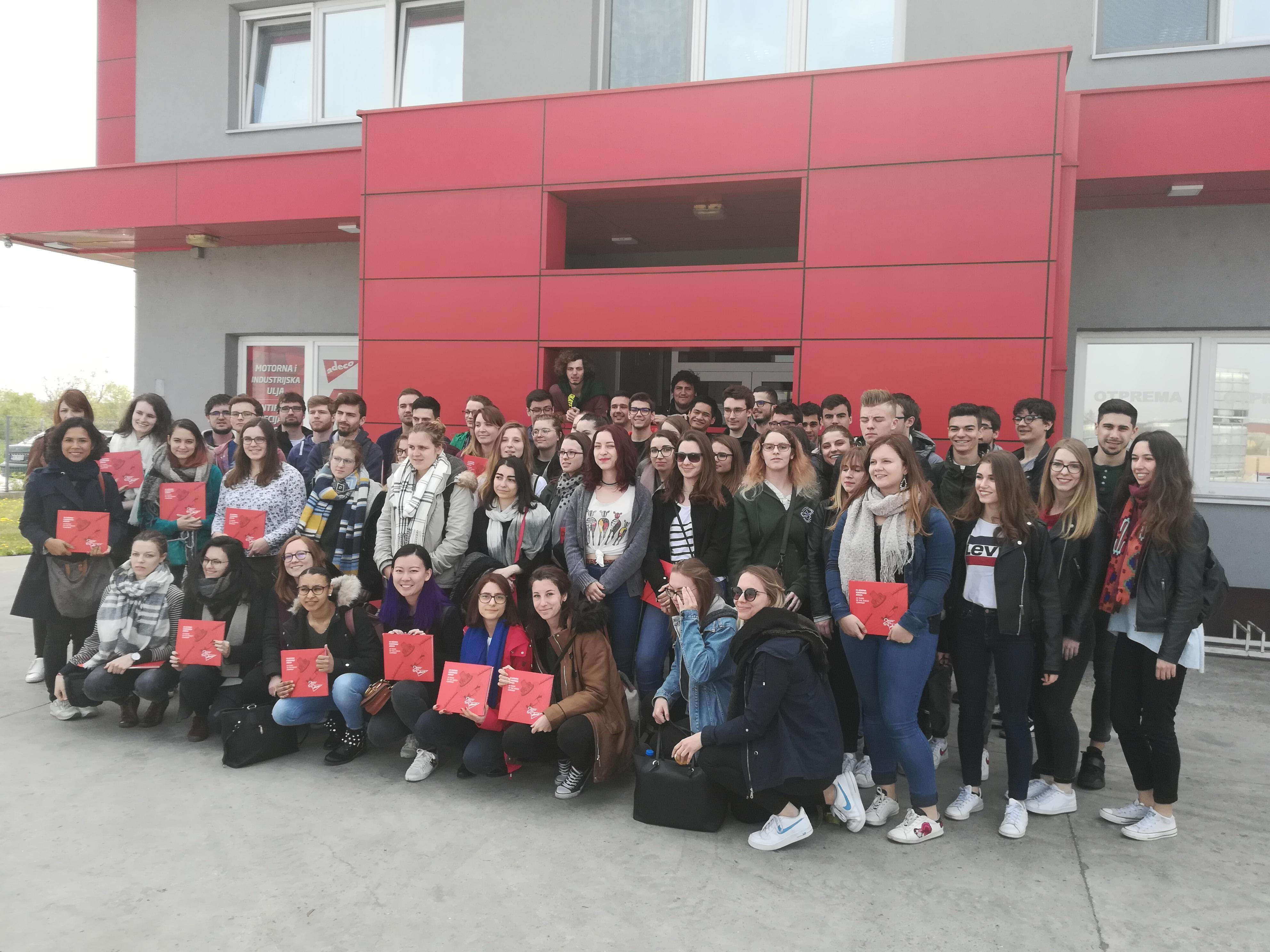 Studenti iz Francuske